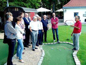 Bezirksbeirat Hedelfingen am 16.7.2014 bei GolfKultur Stuttgart
