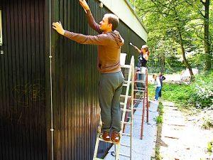 Refugee Help Days 9.-10.6.2016 Flüchtlingsunterkunft Gorch-Fock-Str. 32 Stuttgart Sillenbuch