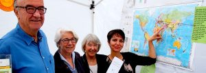 Sillenbucher Sommerfest Infostand Flüchtlingsfreundeskreise