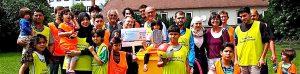 Spendenübergabe 6.7.2016 Rotary Club Stuttgart-Solitude für SportKultur Stuttgart