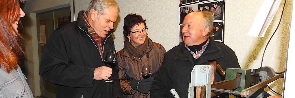 Neujahrswiegen Kelter Stuttgart Hedelfingen 6.1.2017