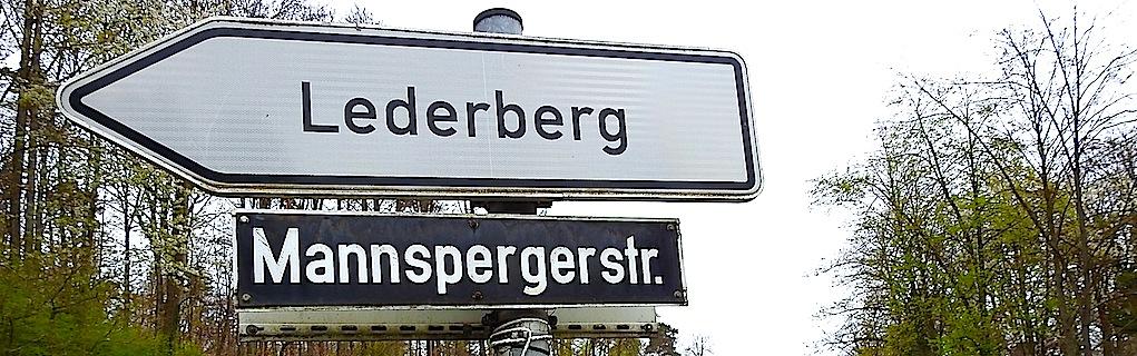 Stuttgart hedelfinger Filderauffahrt Mannspergerstrasse