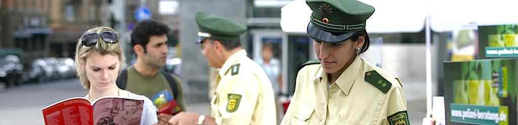 Polizei im Dienst