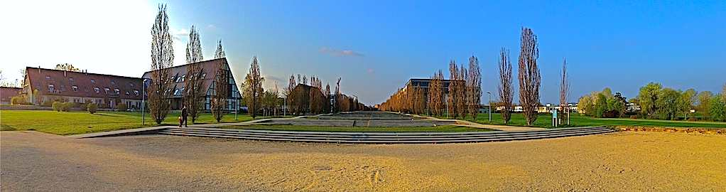 Ostfildern Scharnhauser Park Landschaftstreppe