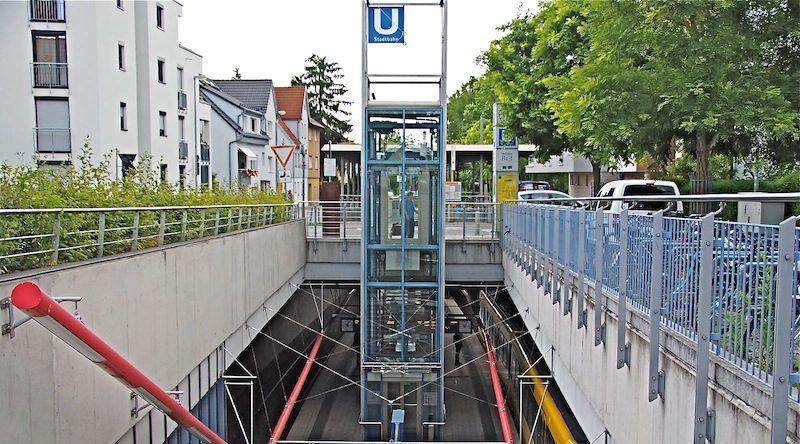 U-Bahn-Haltestelle Ruit