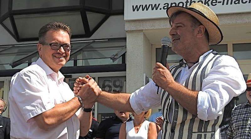 Harald Weith und Salvatore Ciminnisi Sillenbucher Meile