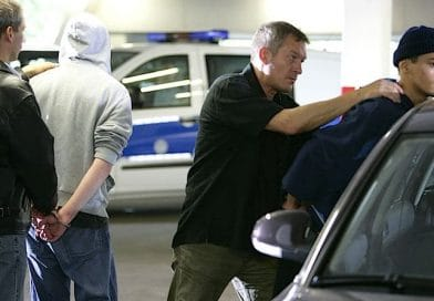 Drei Einbrecher erwischt