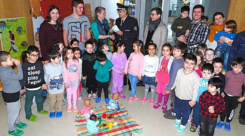 Freiwillige Feuerwehr Hedelfingen Spendenübergabe 1.2.2018