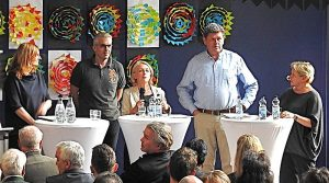 Diskussion Steinenbergschule Stuttgart Hedelfingen 26.4.2018