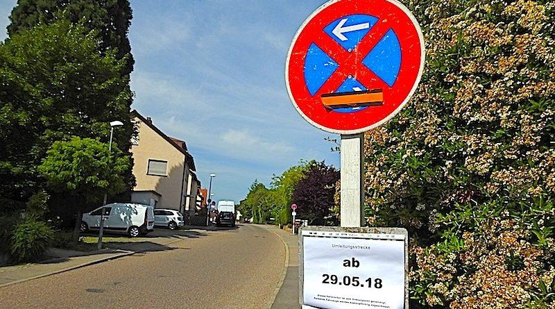 Halteverbot Feigenweg