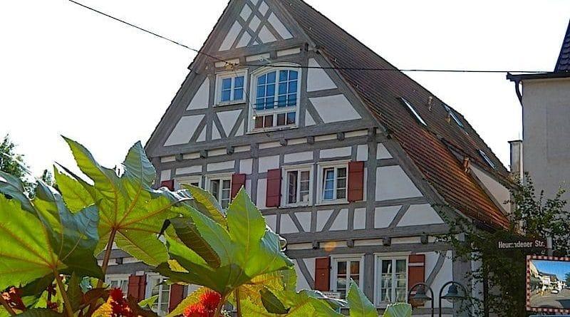 Altes Haus Stuttgart Hedelfingen im Juni 2018