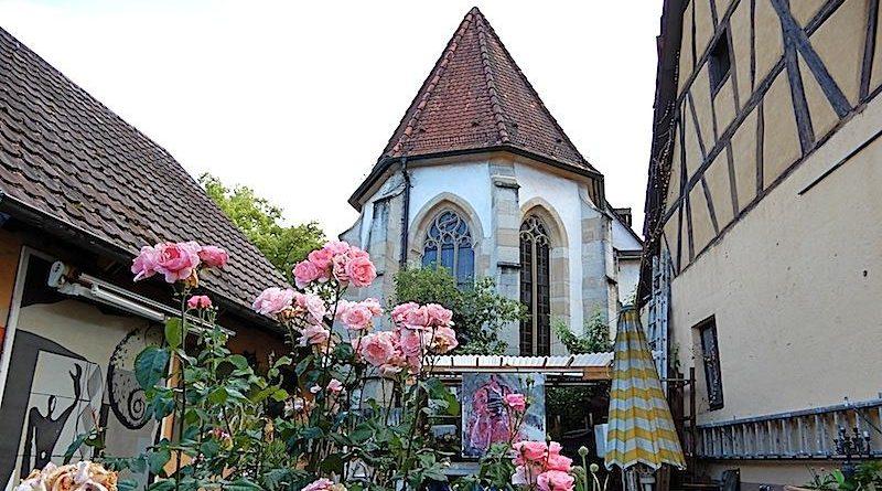Kirchenführung Bernhardskirche 6.7.2019
