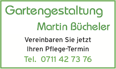 Martin Bücheler Gartengestaltung