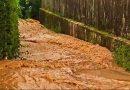 Tennisplätze überschwemmt – hoher Schaden