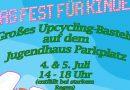 Wochenende: Kinderfest beim Jugendhaus