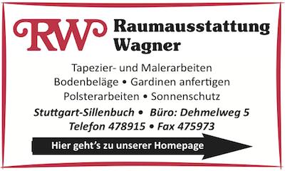 Werbebanner Raumausstattung Wagner