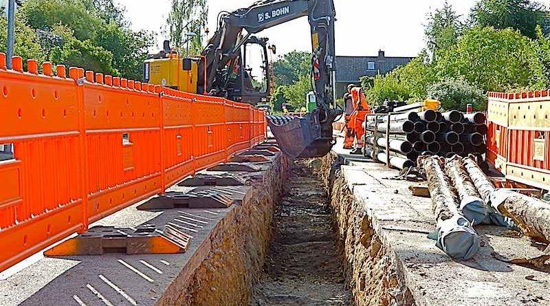 Netze BW Gas- und Wasserleitungen