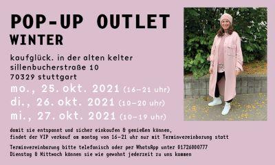 Pop Up Outlet Kaufglück