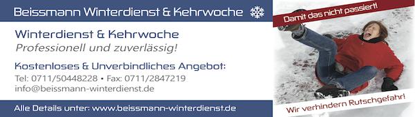 Anzeige Beissmann Winterdienst