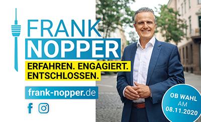 Frank Nopper Kandidat OB-Wahl in Stuttgart