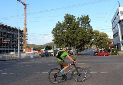 Radroute: Drei Kreisverkehre, zwanzig Monate Bauzeit