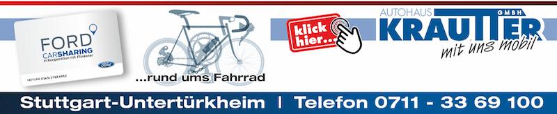 Anzeige Krautter Fahrradservice