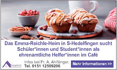 Anzeigenwerbung für Emma-Reichle-Heim
