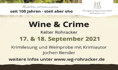 Wein & Krimi der WG Rohracker